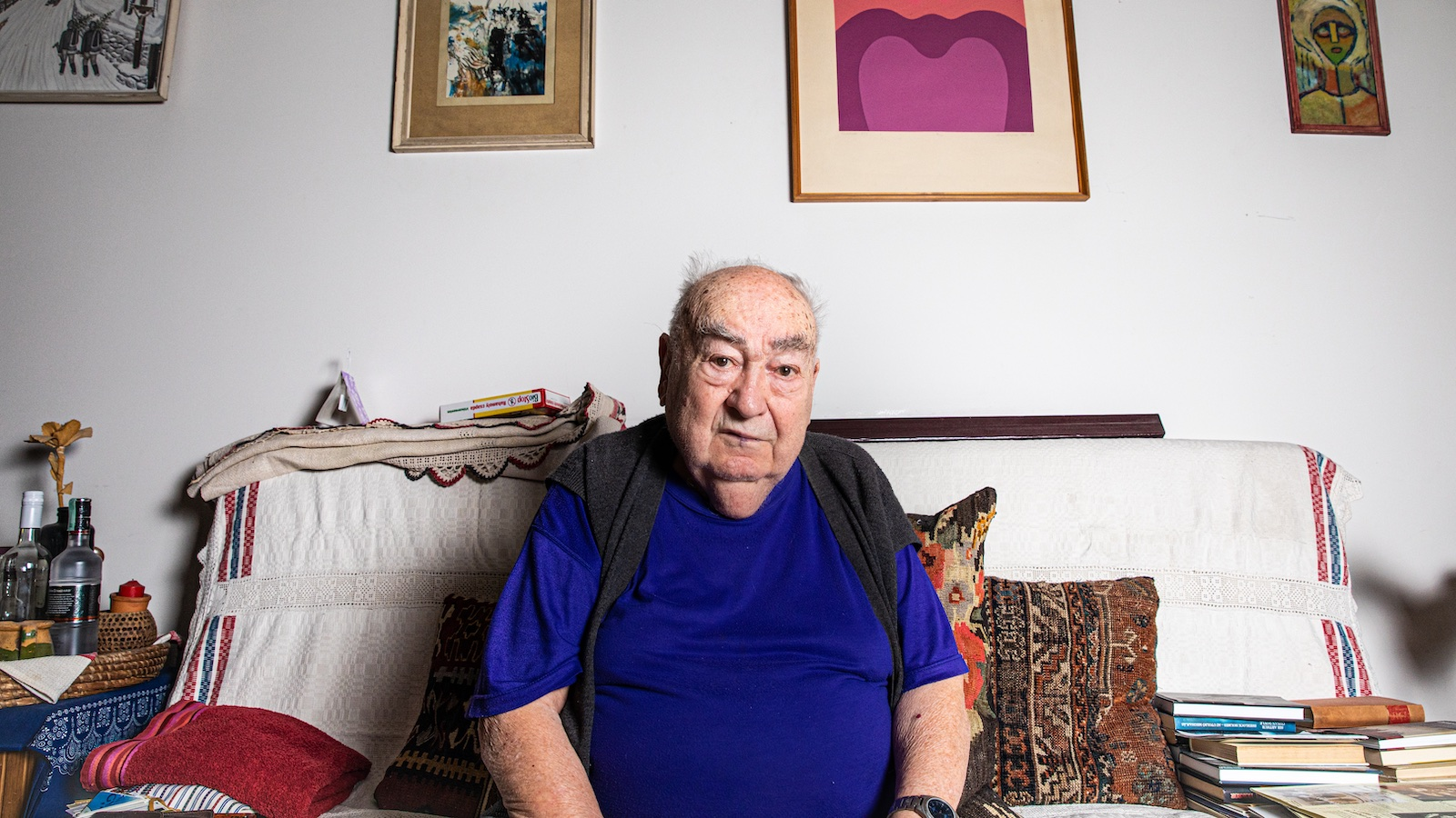 """""""A hangnem, az tűrhetetlen"""" – a most 90 éves Novák Tata páratlan életútjáról mesél"""