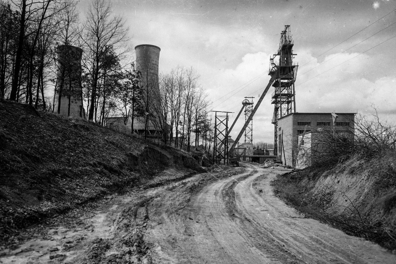 A Kossuth-akna 1955-ben. (Fotó: Fortepan/Kotnyek Antal)