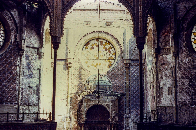 A romos zsinagóga 1989-ben
