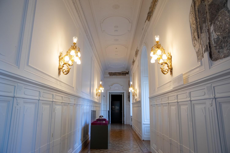 A helyreállított folyosó
