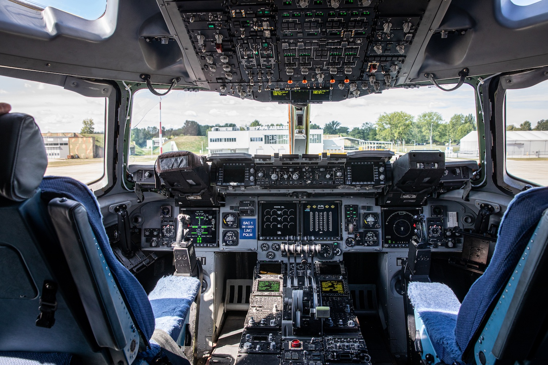 A C-17-es pilótafülkéje