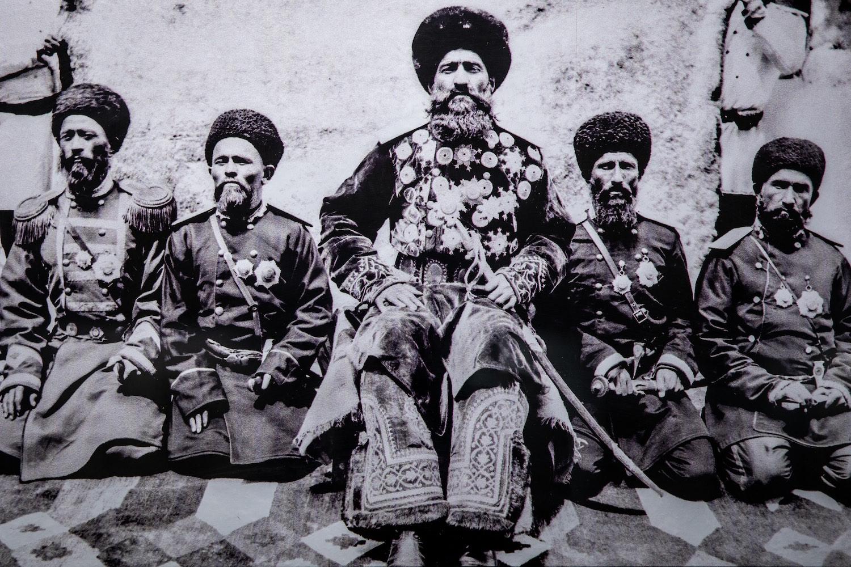 Katonai vezetők a 20. század elején, a buharai emír szolgálatában