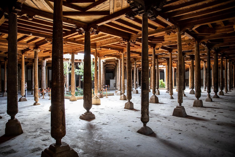 A Dzsuma mecset oszlopai