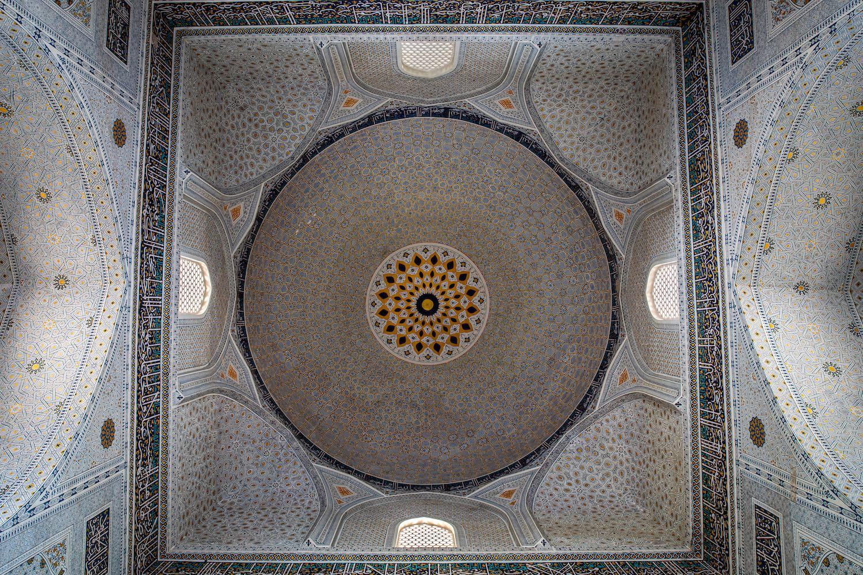 Részlet a Bibi Hanim-mecsetből
